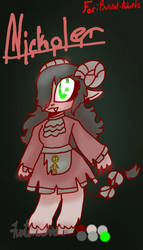 Nickole naught adopt (THIS HAS BEEN BOUGHT)  by FuntimeError887
