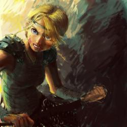 Astrid: Not the Face by avatarmirai