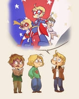 The Epic Tale of Super America by avatarmirai