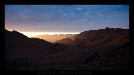 The burning Sky by Starkall