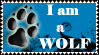 I'm a Wolf - Stamp by stamps-club