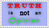 Truth and Opinion Stamp by stamps-club