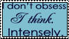 Think Intensely Stamp-Meljoy68 by stamps-club