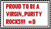Proud Virgin Stamp by stamps-club
