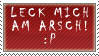 DO NOT FAV- Leck mich am Arsch by stamps-club