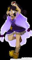 [PKMN OC] Champion Rosika would like to battle! by Saccharinerose