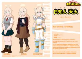[BnHA OC] Hijiri Tenka Profile by Saccharinerose