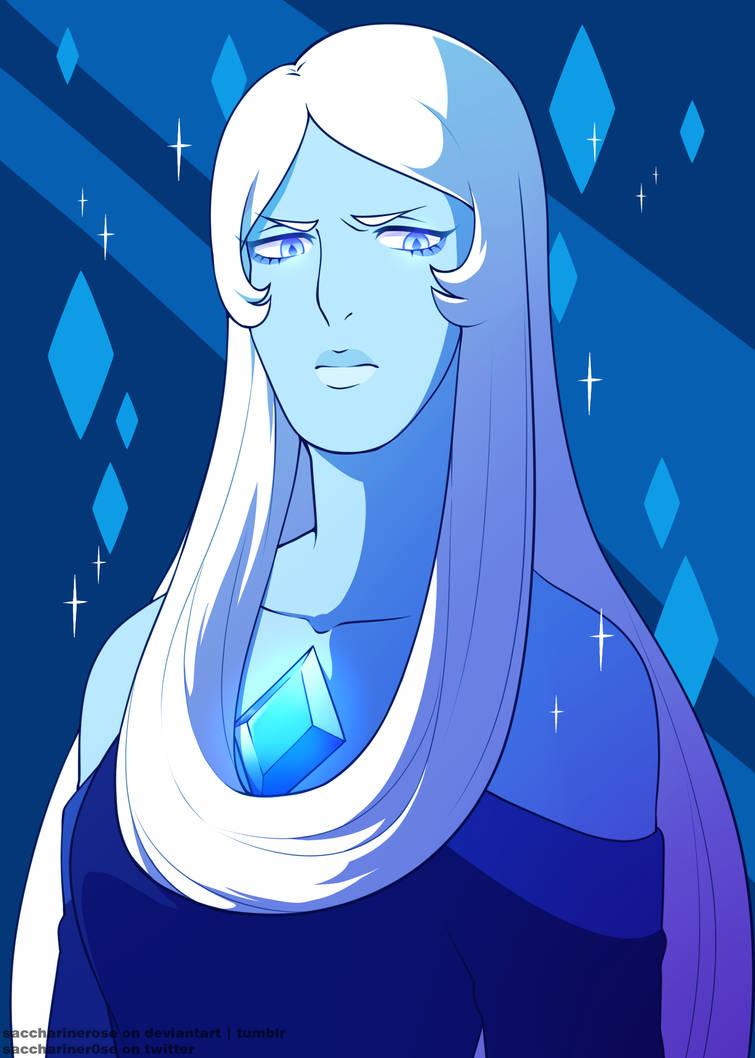 Felt like drawing her~ I love my big, blue wife Art ©Saccharinerose Steven Universe © Rebecca Sugar