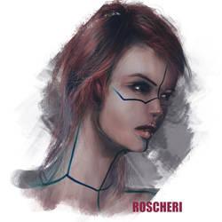 Portrait by roscheri