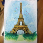 Eiffel Tower by Germaineouse