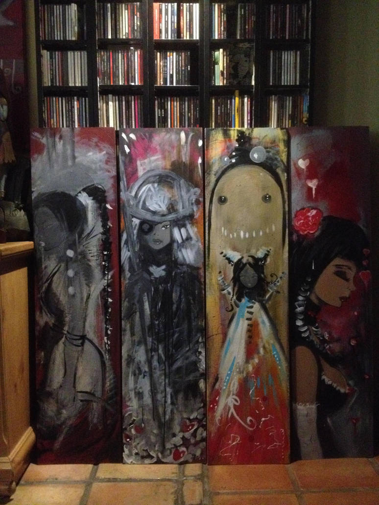 2014 Paintings by Billy68