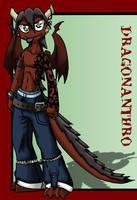 Dragon Anthro by EshianFulika