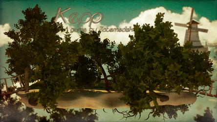 Kepp - Concept art (Tree isle) by Zatemedek