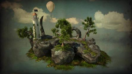 Lighthouse by Zatemedek
