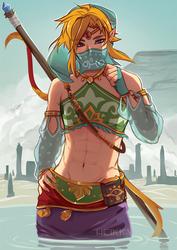 Gerudo Link by Heikky