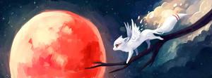 Moon Fox III by freeminds