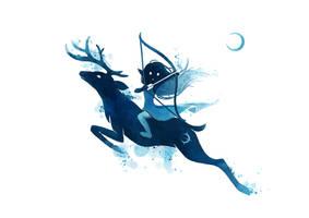 Elf Archer by freeminds