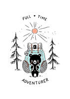 Adventure Bear by freeminds