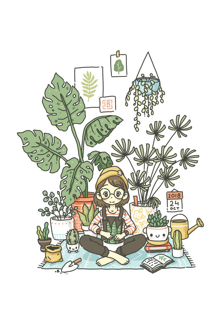 Plant Lady by freeminds