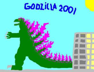 godzilla 2,001 by spacezillazon