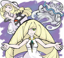 Lusamine, What's It Mean? by treespeakart