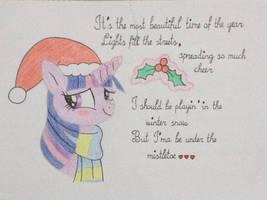 Under Twilight's mistletoe by DON2602