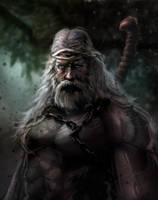 Old Barbarian by mattforsyth