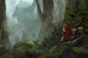 Hunting The Dragon by mattforsyth