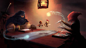 Whisp - Kord and Rin battle by mattforsyth