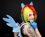 Rainbow Dash - Cosplay 2 by Petunia43