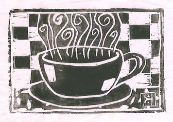 Coffee Cup by MercuryRhapsody