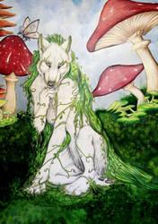 Spirit and Shrooms by Indigo-Maverick