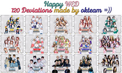 20170605 HAPPY WED 120DEVIATIONS MADEBY OKTEAM ((= by okteam