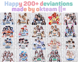 20170712 HAPPY 200+DEVIATIONS MADE BY OKTEAM ((= by okteam