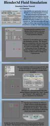 Blender Fluid Sim Basics by Ci-Blender