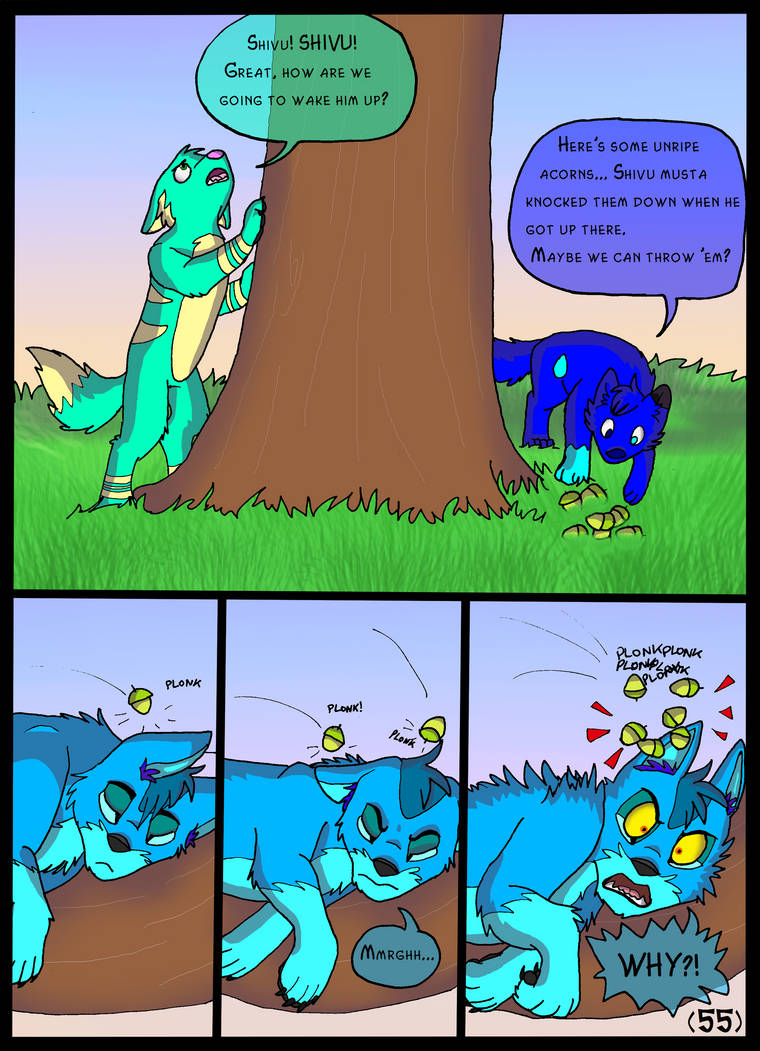 World of Wolves Page 55 by Sooty123