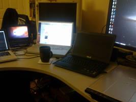 Desk Of Overkill by sgrahamUK