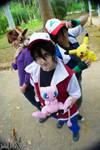 - Pokemon - Red - Gary - Ash by PriSuicun