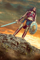 Wonder Woman by JulietGarcia
