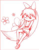 Blossom Sketch 1 by JKSketchy