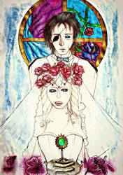 Gilbert and Violet - Marriage of love by GiuliaEchelon