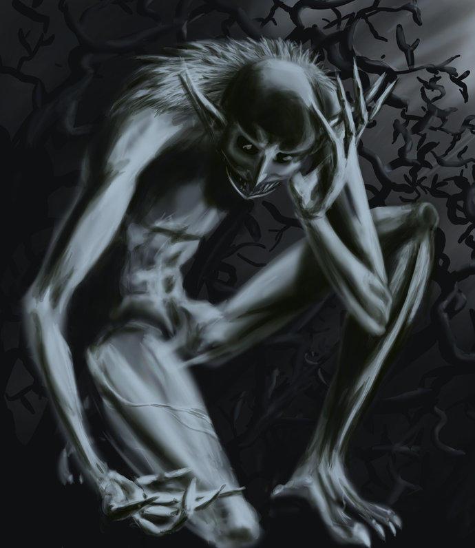 Winter Goblin by Bluesrat