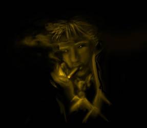 Dark Alley by Bluesrat