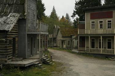 Western Town by BlankStock