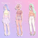 Pastel Girl Adopts CLOSED by teaesthetic