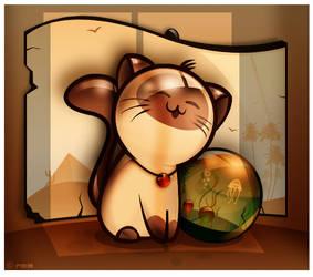 MeowwWw... by reynante
