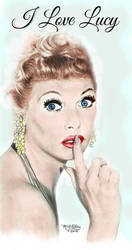 I Love Lucy by marmicminipark