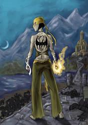 Iron Fist by QueenAravis