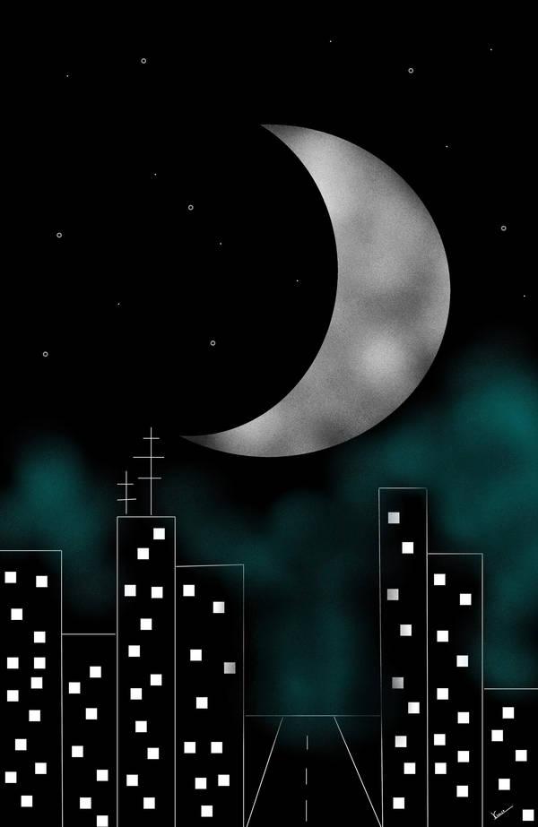 Nacht by viaviolet