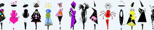 Fashion II....... by viaviolet